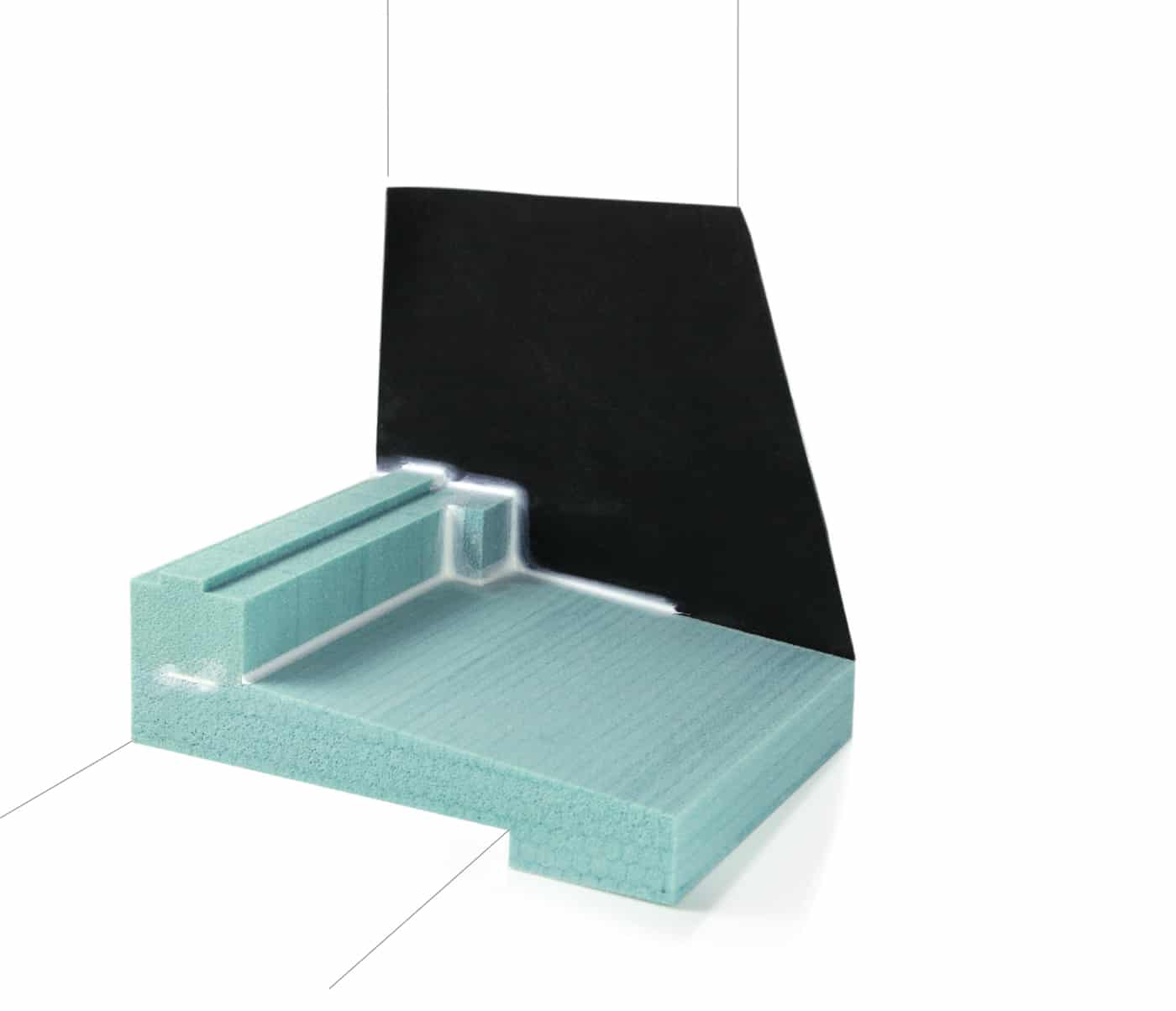 Fensterbank Dämm und Dichtkeil