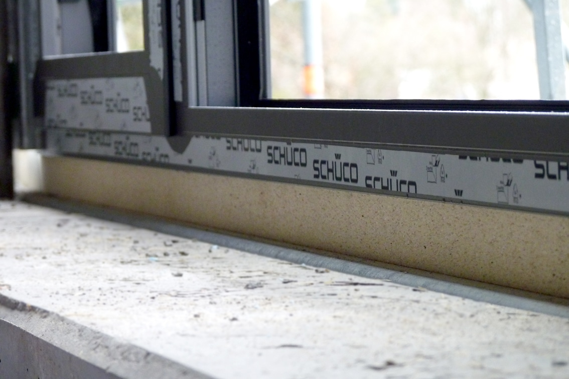 Verwendung unter Schüco AWS75-Fenstersystem