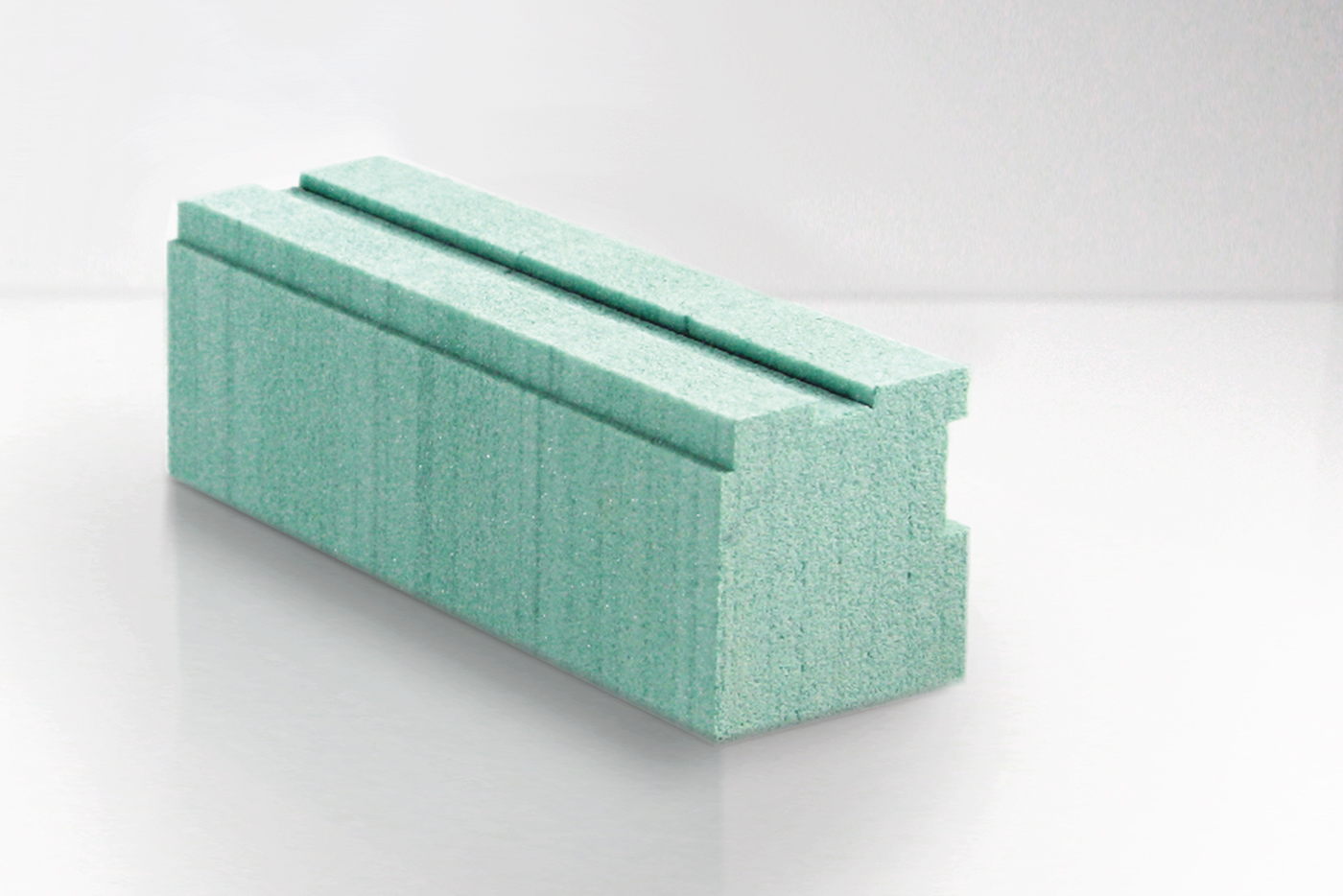 Fensterbankanschlussprofil aus Kerdyn Green FR, der PET Platte