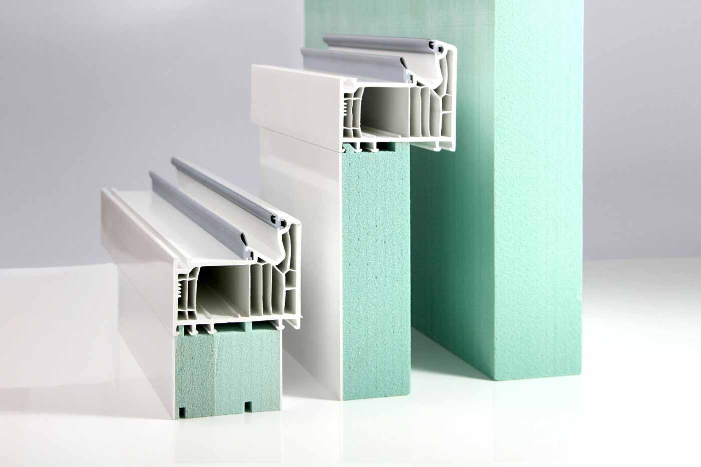 Schwellenprofil mit PVC Beschichtung