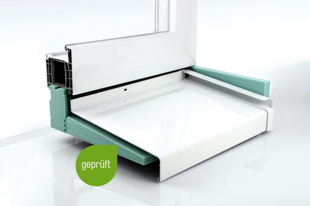 Dämmkeil und Dichtkeil als zweite wasserführende Ebene bei Fenstermontage